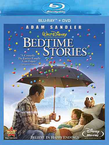 BEDTIME STORIES BY SANDLER,ADAM (Blu-Ray)